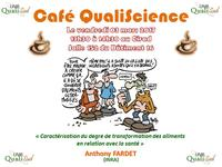 Café QualiScience le vendredi 3 mars à 13h30